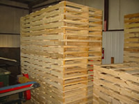 Several New Wood Pallets