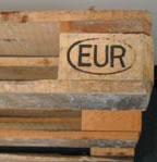 Graphic Image of the Trademark of the Euro Pallet